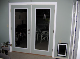 screw it online french doors and large wall mounted dog door