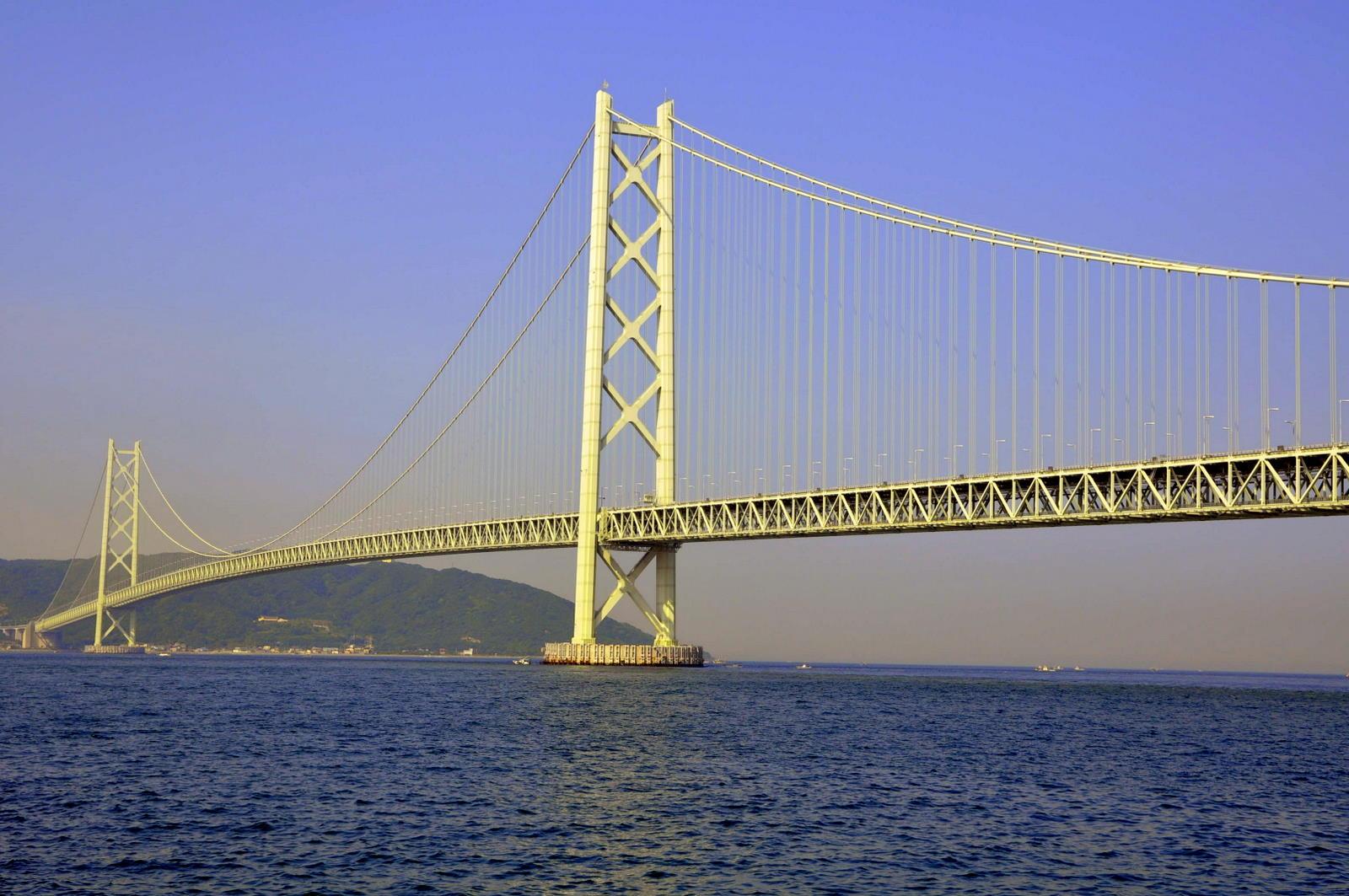 Akashi Kaikyo Bridge, Akashi Strait, Japan - Verdict Traffic Akashi kaikyo bridge images