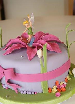 Cake Designs Tinkerbell : Tinkerbell Cake