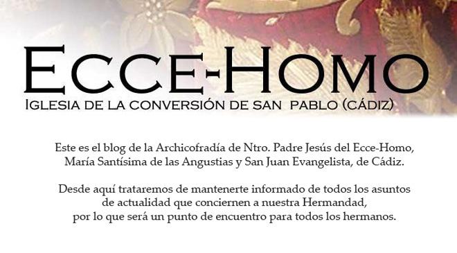 Archicofradía del Ecce-Homo, Cádiz