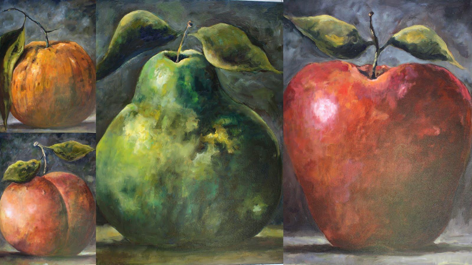 Fabulous Fruit Paintings