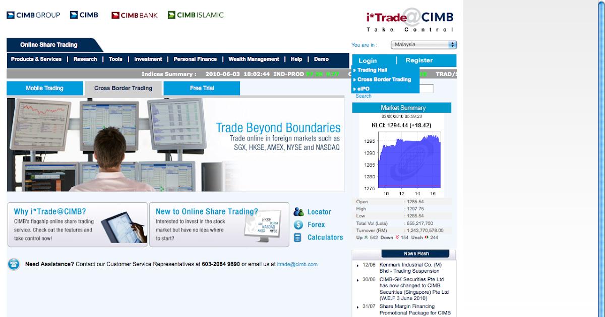 Cimb itrade forex