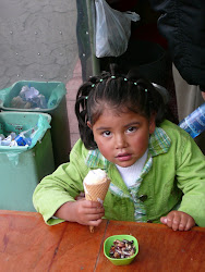 Adorable child, near Church de San Francisco, La Paz