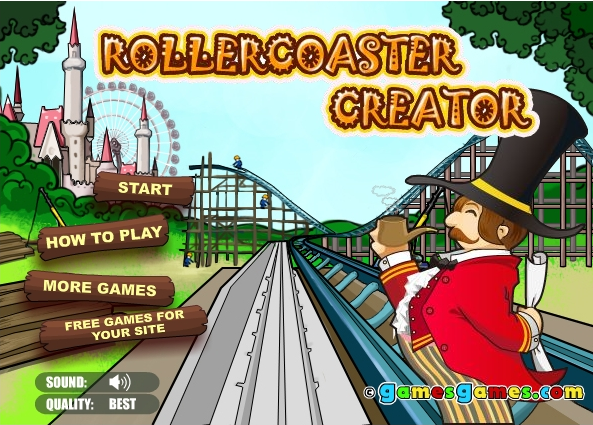 roller coster creater