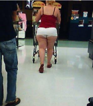 Big Ass At Walmart
