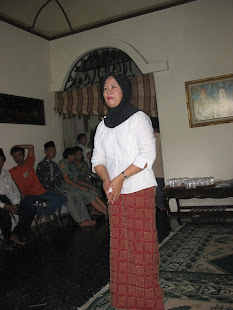 Pidato Hj Dyah Bambag P ,Menyambut Kemenangan