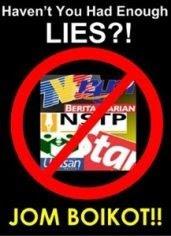 Mulai Sekarang, Boikot Media PENIPU..!!!