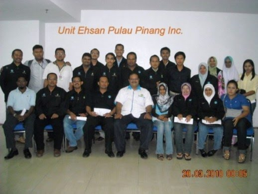 Team Unit Ehsan Pulau Pinang 2010