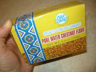 Water chestnut flour gluten free