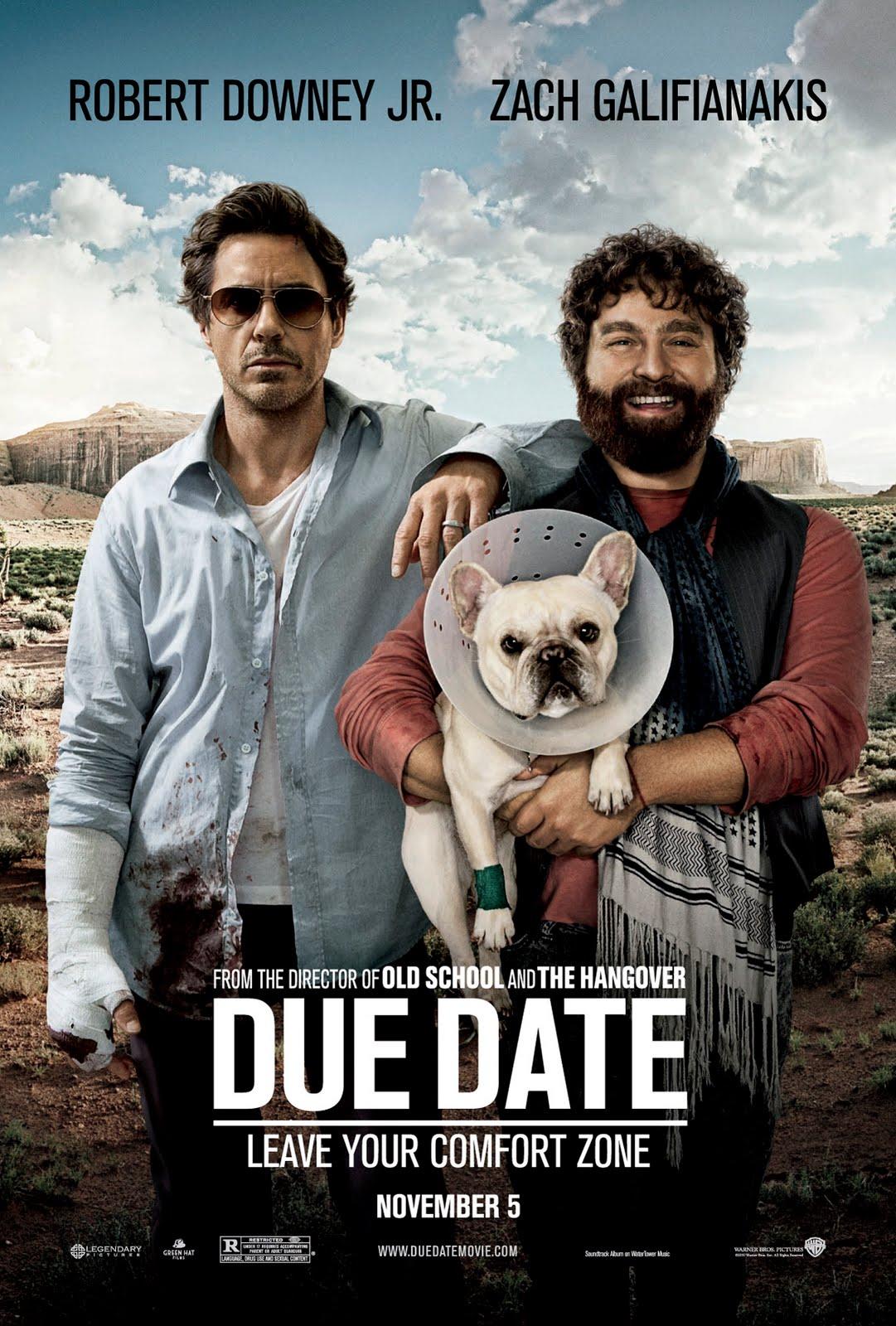 Due Date / Todo un parto (2010) Due-date-poster
