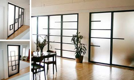home design see through walls 4 clever modern sliding door designs