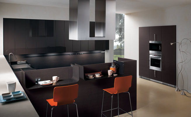 Modern Contemporary Kitchen Fusion