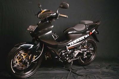 Modifikasi Yamaha Jupiter Z ekstrim MINIMALIS