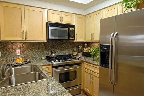 New home accessories modern kitchen interior design small for Small kitchen interior
