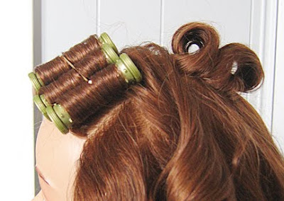Victorian Roll Hairstyle