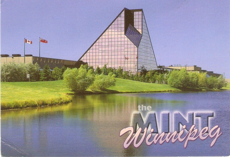 Carte Canada Manitoba.Postcard A La Carte 2 Canada Manitoba Royal Canadian Mint Of