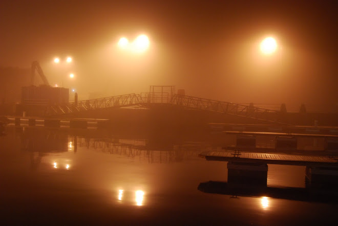 Foggy Galway Harbour