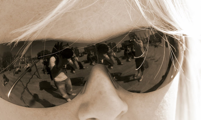 Mirror image in Sun Glasses