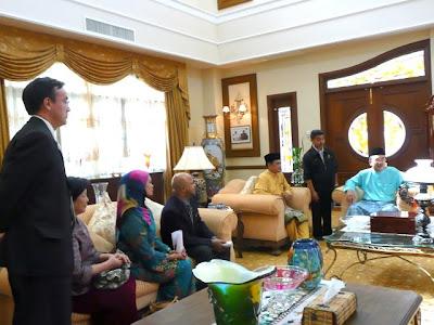 Rombongan khas bertemu Ketua Menteri