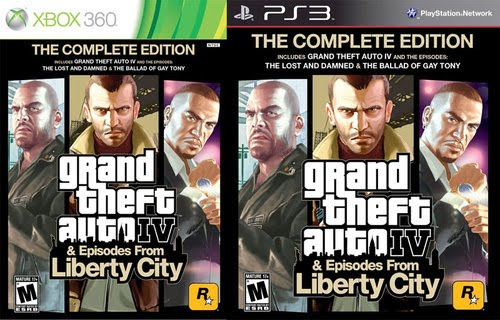 Grand theft auto iv และ grand theft auto episode from liberty