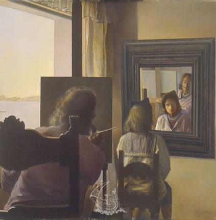 Bien plus que des mots le miroir trompeur for Je me regarde dans le miroir