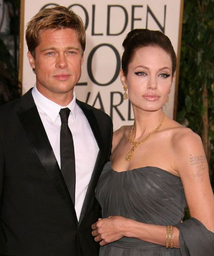 Brad Pitt - Angelina Jolie, Best Neighbors in US
