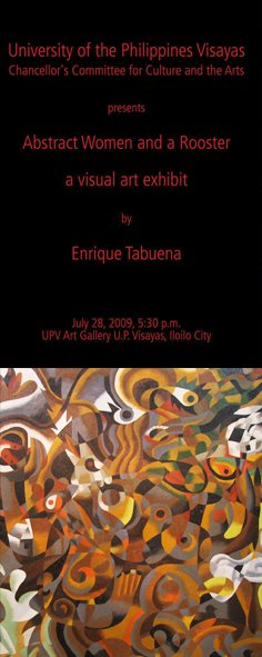UP VISAYAS GALLERY UPCOMING  SHOW