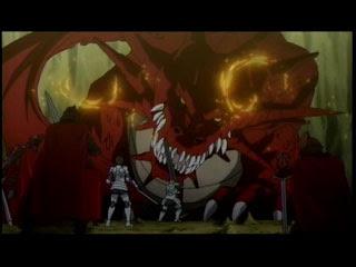 ドルアーガの塔 7話 片羽のドラゴン