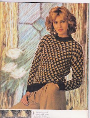Barbara Siedlecka Artwork Jaeger Pattern Book Page