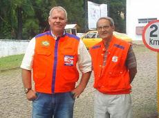 Roger PP5RO e Paulo Cesar PT2PC