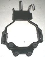 Dudukan/bracket lampu depan Honda GL Pro