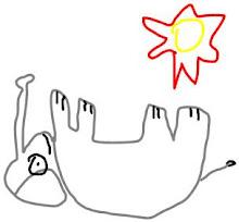 elefante al sol ★