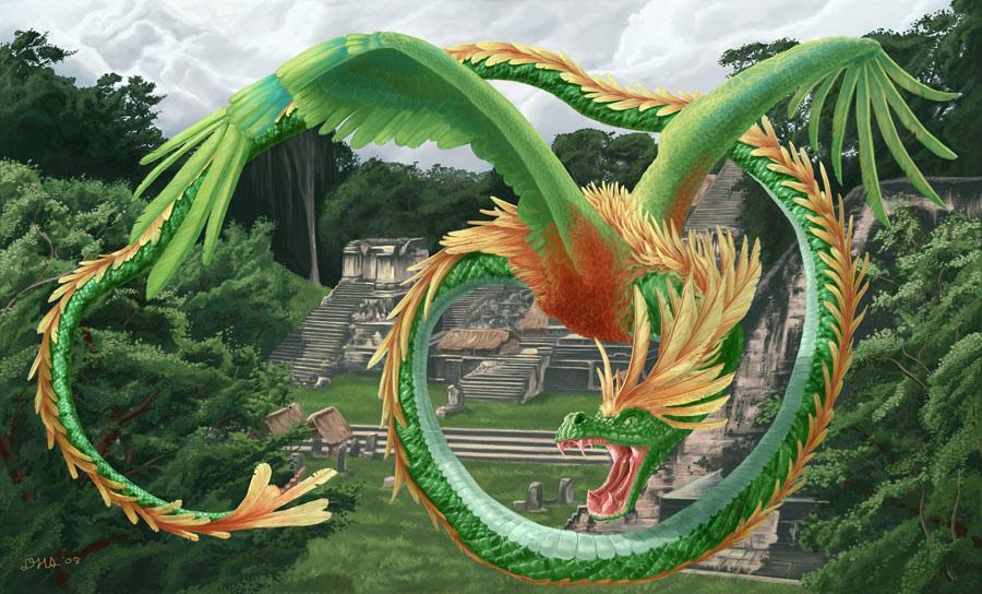 Dragones  Quetzalcoatl_web900