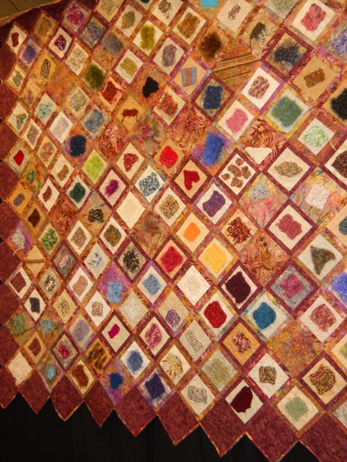 Quilt Stitch In Knitting : Celtic Heart Knitting and Quilting: Quilters Unlimited Quilt Show 2010, ...