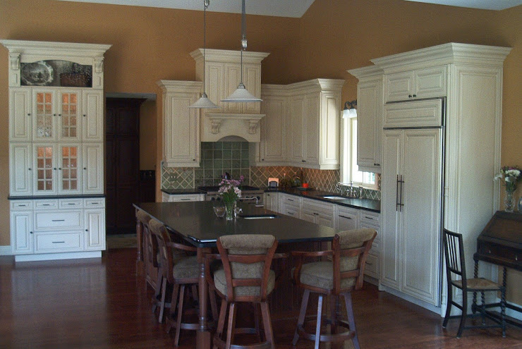 Custom kitchen by Kristen