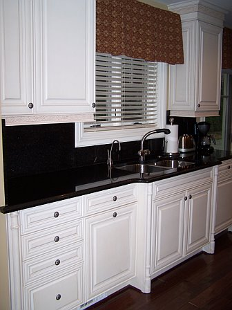 Custom Painted Maple Kitchen by Kristen