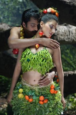 hamsa nandini and aryan rajesh from anumanaspadam movie