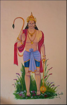 hanuman painting ancient