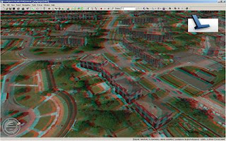 3D Anaglyph created with Autodesk LandXplorer