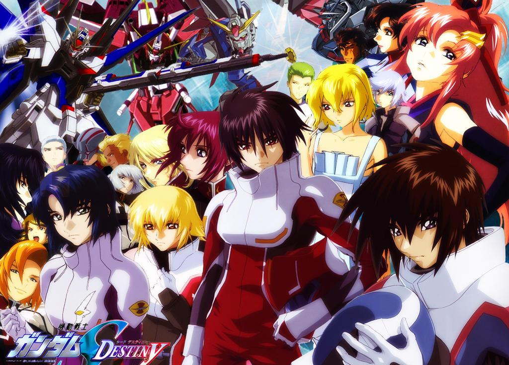 gundam wallpaper. Gundam SEED Destiny sets the