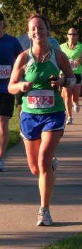 9/12/10 Sioux Falls Half Marathon 1:53:47
