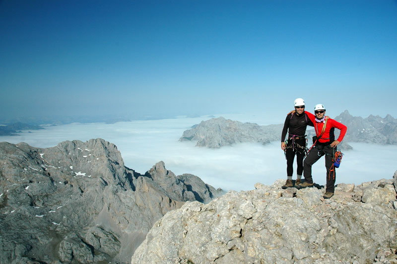 Aristacimera torrecerredo picos de europa for Tirarse a la piscina