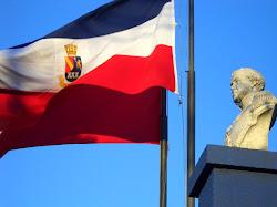 Homenaje al chillanvejano Bernardo O'Higgins en Plazuela Paso de Piedra