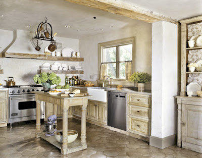 Original-French-Kitchen-with-wooden-elements