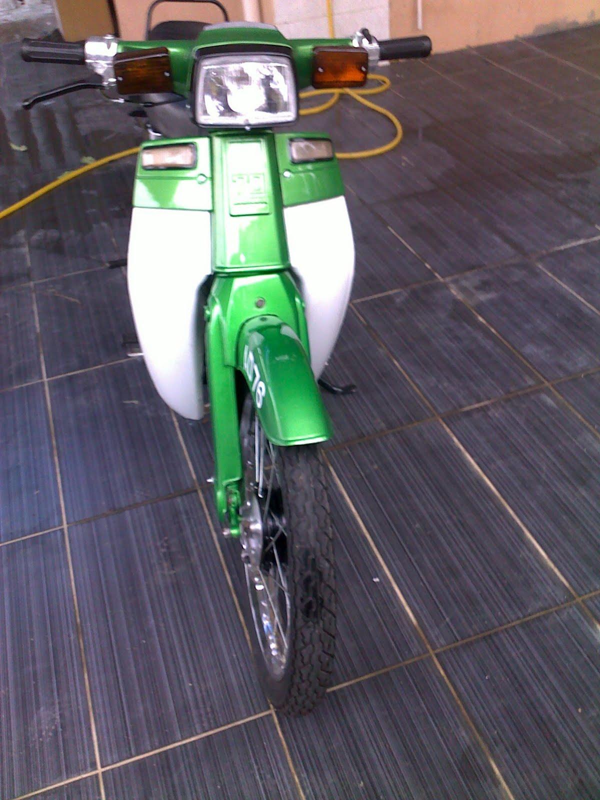 ASMADI ABDUL RAHMAN: MOTOR TEMAN HONDA C70 UNTUK DIJUAL