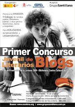 Primer concurso juvenil de blogs literarios
