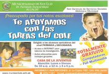BIBLIOTECA MUNICIPAL APOYANDO EN LAS TAREAS