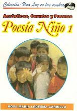 """POEMARIO """"POESÍA NIÑO 1"""""""