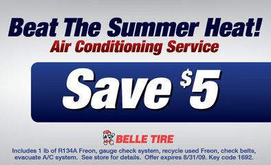 Belle tire coupon code