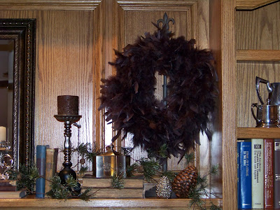 How to Make A Feather Wreath - Cheap!